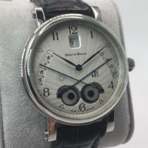 Martin Braun Steel 42mm Automatic 068 pre-owned United States of America, Iowa, Des Moines
