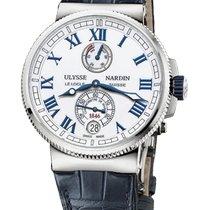 Ulysse Nardin Marine Chronometer Manufacture Сталь 43mm Белый Римские Россия, Moscow