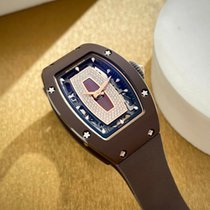 Richard Mille RM 07 pre-owned 45.66mm Transparent Rubber