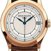 Patek Philippe Annual Calendar Rose gold 38.5mm Silver United States of America, Illinois, BUFFALO GROVE