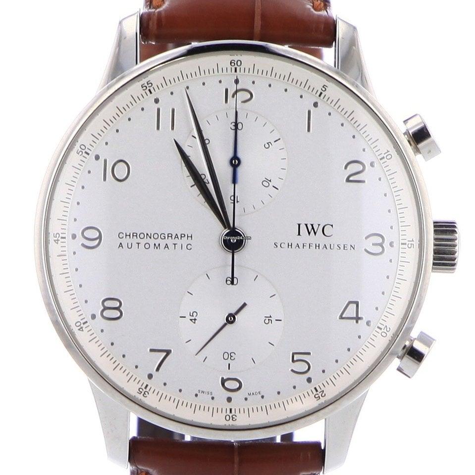 IWC Portuguese Chronograph folosit