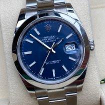 Rolex Datejust 126300 Odlično Zeljezo 41mm Automatika