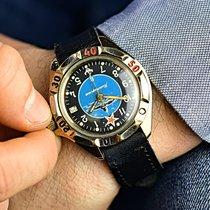 Vostok Submarine Forces Military Watch Très bon Acier 43mm Remontage manuel