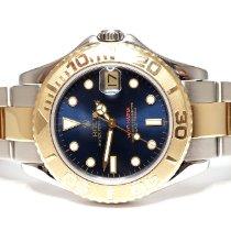 Rolex 168623 Goud/Staal 2001 Yacht-Master 35mm tweedehands