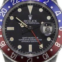 Rolex GMT-Master Stål 40mm Svart Ingen tall