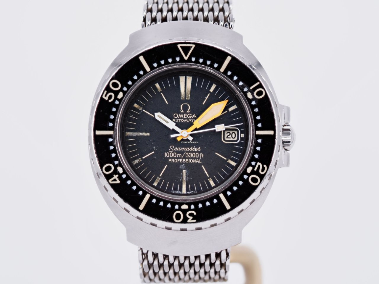 Omega Seamaster PloProf 166.093 1972 pre-owned