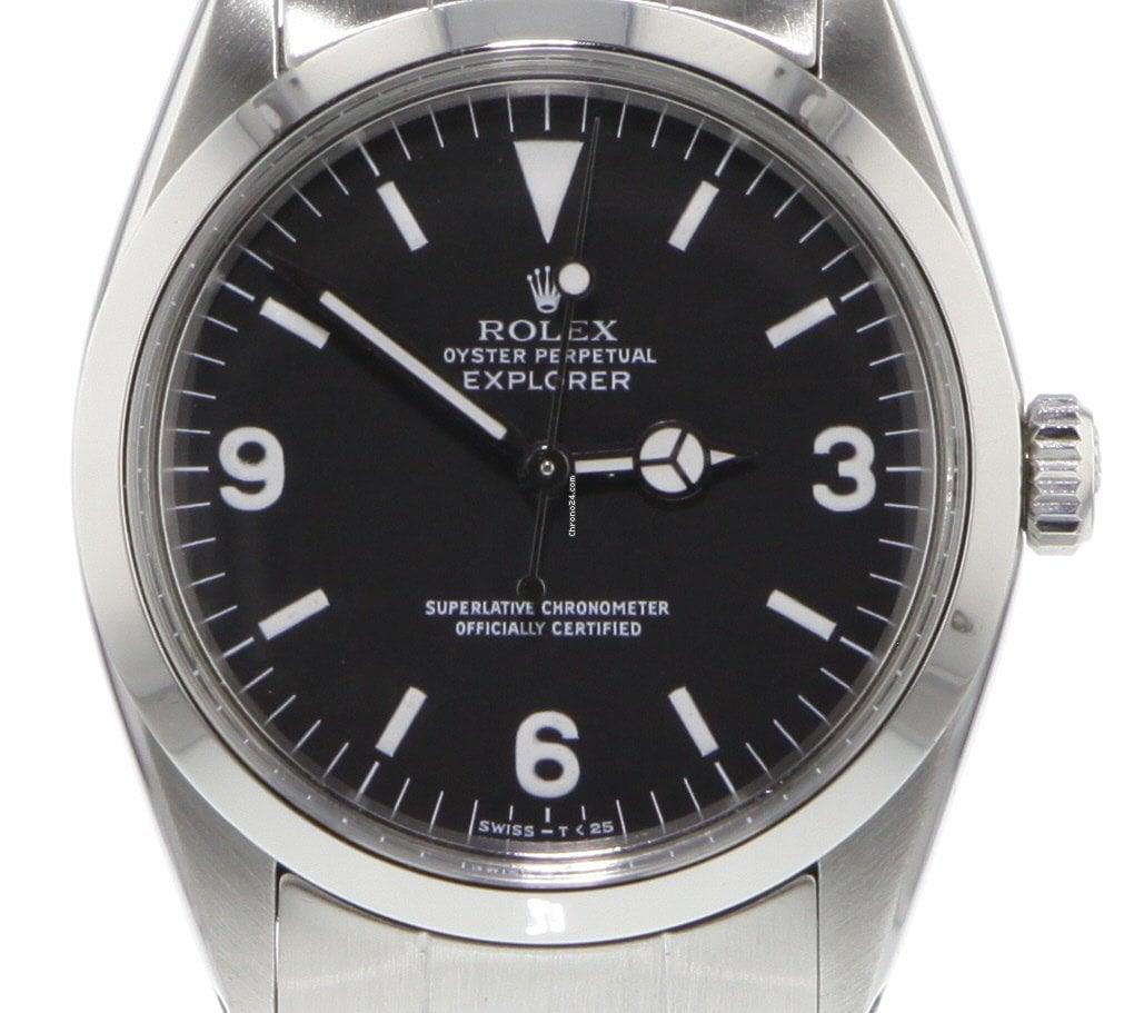 Rolex Explorer 1016 1987 tweedehands