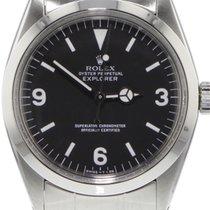 Rolex Explorer Acero 36mm Negro Arábigos