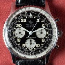 Breitling Navitimer Cosmonaute Staal 41mm Zwart Arabisch Nederland, Diemen
