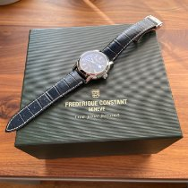 Frederique Constant new Automatic Display back 42mm Steel Sapphire crystal