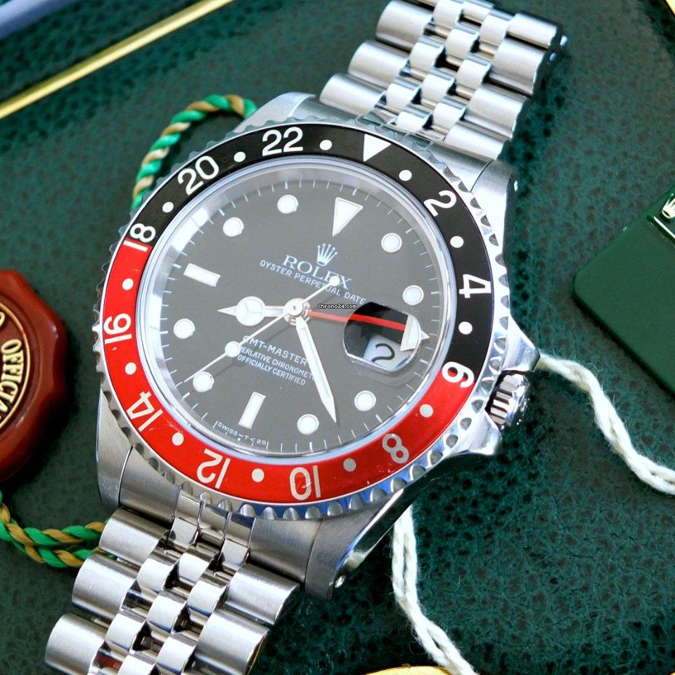 "Rolex GMT-Master II 16760 GMT Master II ""Fat Lady Sophia Loren"" 1987 gebraucht"