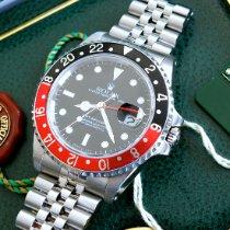 Rolex GMT-Master II Stahl 40mm Schwarz Keine Ziffern Deutschland, Eltville