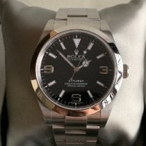Rolex pre-owned Automatic 39mm Black Sapphire crystal 10 ATM