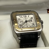 Cartier Gold/Steel 42mm Automatic W20091X7 pre-owned
