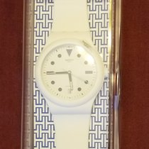 Swatch Plastic Automatic White 42mm new
