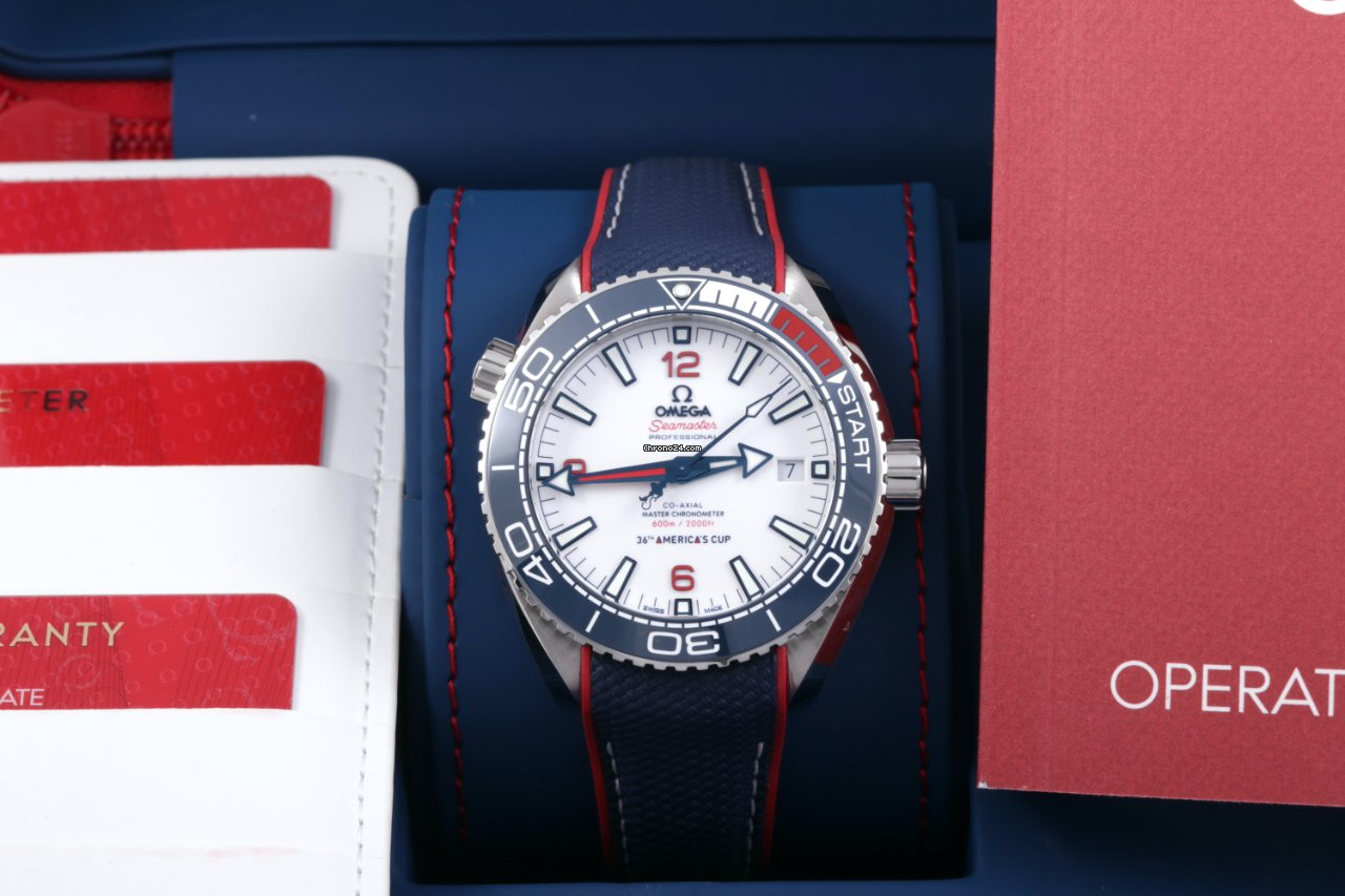 Omega Seamaster Planet Ocean 215.32.43.21.04.001 2020 pre-owned