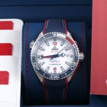 Omega Seamaster Planet Ocean Steel 43.5mm White Arabic numerals United States of America, California, Los Angeles