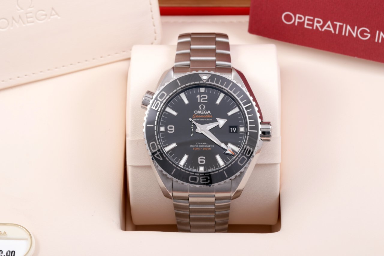 Omega Seamaster Planet Ocean 215.30.44.21.01.001 2021 pre-owned
