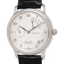 Zenith Manual winding Silver 36mm pre-owned