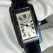 Cartier Tank Américaine nieuw 2020 Quartz Horloge met originele doos WSTA0016