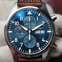 IWC Pilot Chronograph Steel 43mm Blue Arabic numerals United States of America, Florida, Orlando