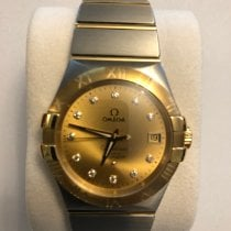Omega Constellation Ladies Gold/Steel 35mm Gold Roman numerals Australia, Melbourne