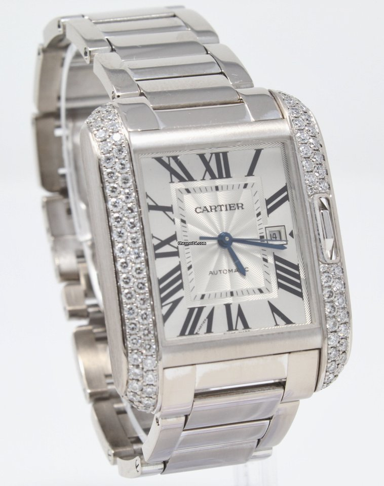 Cartier Tank Anglaise WT100009 pre-owned