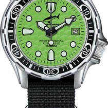 Chris Benz Steel Automatic 500A-G-NBS new