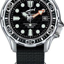 Chris Benz Steel Automatic 500A-S-NBS new