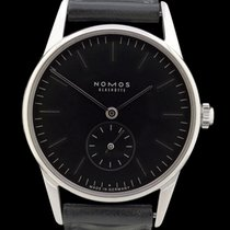 NOMOS Orion pre-owned 35mm Black Leather