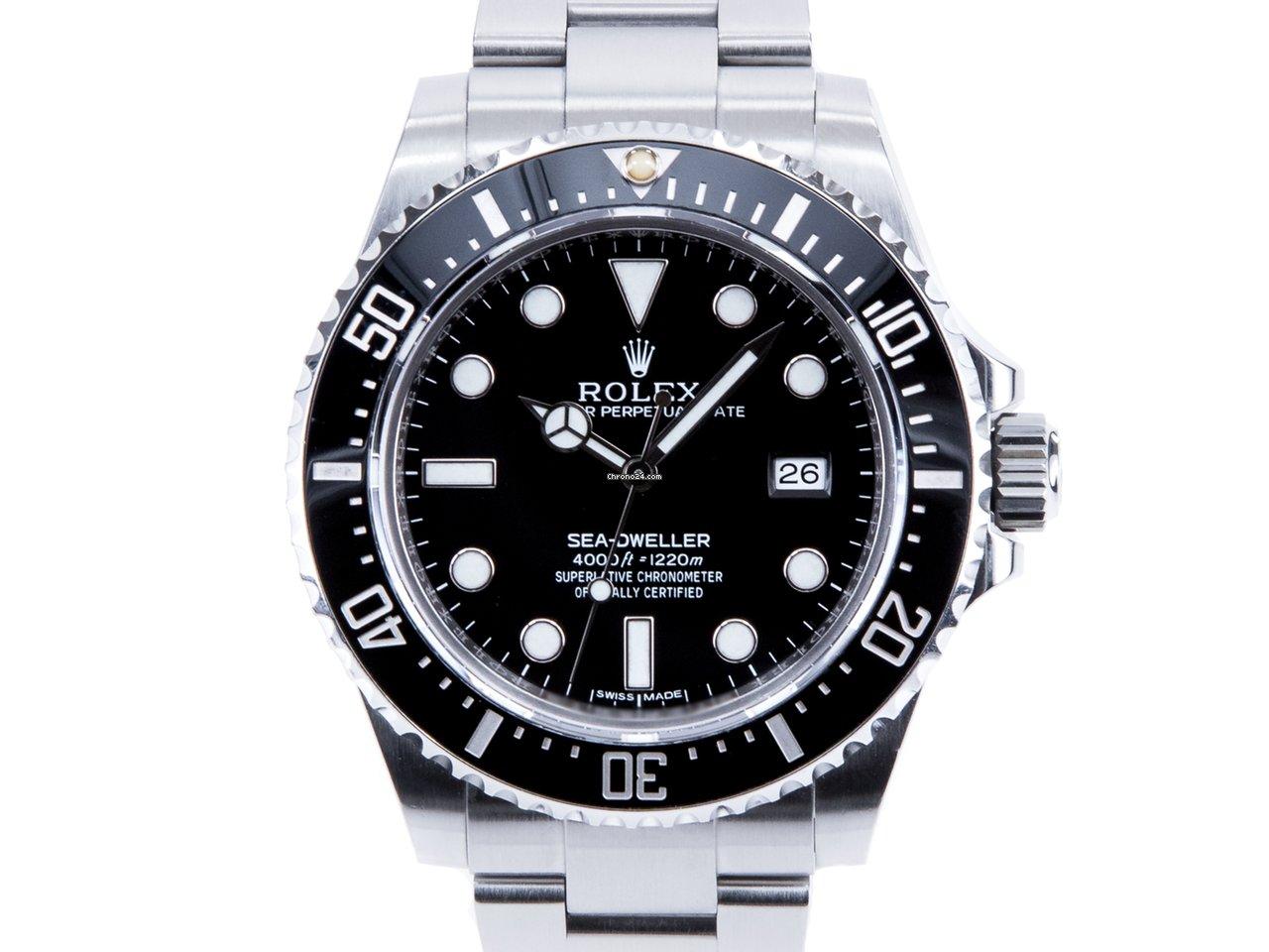 Rolex Sea-Dweller 4000 116600 2016 usados