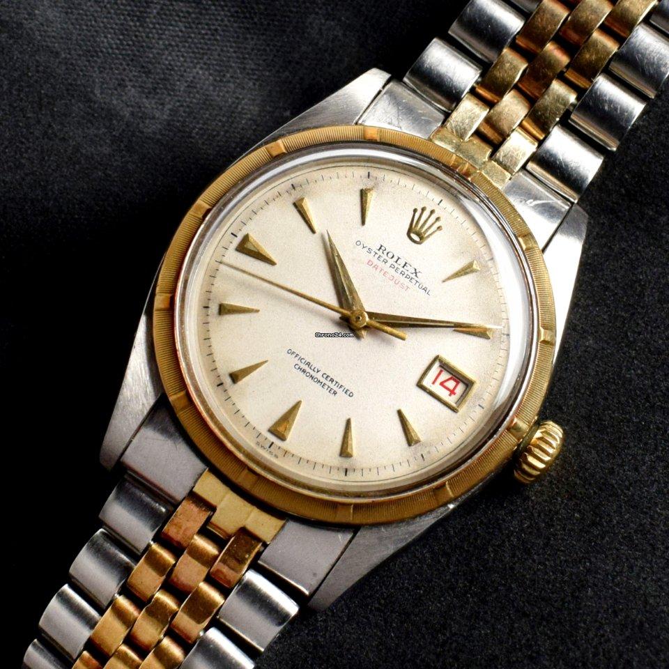 Rolex Datejust 6305 1953 подержанные