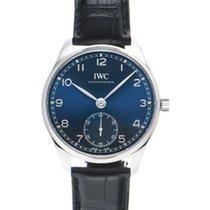 IWC Portuguese Automatic Steel 40.4mm Blue