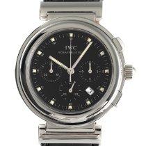 IWC Da Vinci Chronograph Сталь 37mm Черный