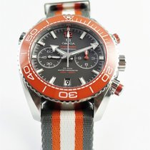Omega Seamaster Planet Ocean Chronograph Staal 45.5mm Grijs Arabisch
