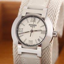 Hermès Nomade Steel Silver Roman numerals