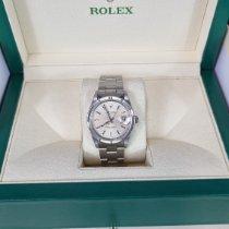 Rolex Oyster Perpetual Date Stål 34mm Sølv Ingen tall