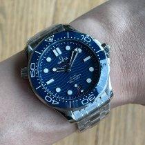 Omega Seamaster Diver 300 M Steel 42mm Blue No numerals Malaysia, Kuala Lumpur