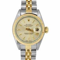 Rolex Lady-Datejust Gold/Steel 26mm Silver United States of America, New York, Massapequa Park