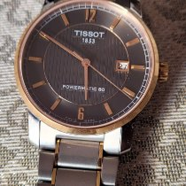 Tissot Titanium Automatic Титан 40mm Cерый Aрабские