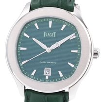 Piaget Polo S Сталь 42mm Зеленый