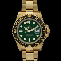 Rolex GMT-Master II Oro giallo 40mm Verde Senza numeri Italia, arezzo
