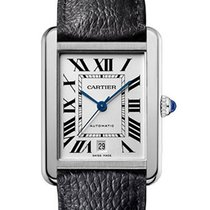 Cartier Tank Solo Steel 31mm Silver Roman numerals United States of America, New York, NY