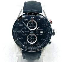 TAG Heuer Carrera Calibre 1887 Steel 43mm Black United States of America, New Jersey, Hoboken
