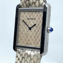 Cartier Tank Solo Steel 27.4mm Champagne No numerals United States of America, New Jersey, Hoboken