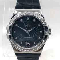 Omega Constellation Quartz new 2010 Quartz Watch with original box and original papers 123.18.35.60.56.001