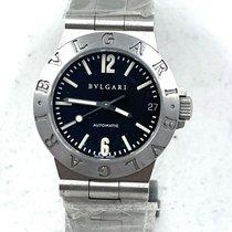 Bulgari Diagono Steel 29mm Black No numerals United States of America, New Jersey, Hoboken