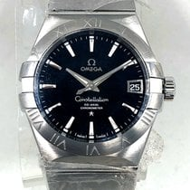 Omega Constellation Men new 2010 Automatic Watch with original box and original papers 123.10.38.21.01.001