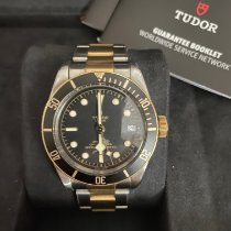 Tudor Black Bay S&G Gold/Steel 41mm Black No numerals United States of America, Georgia, Smyrna