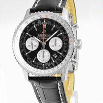 Breitling AB0121211B1P2 Staal Navitimer 1 B01 Chronograph 43 43mm nieuw